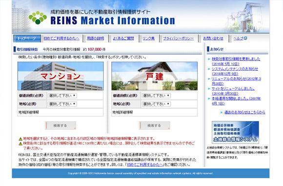 REINS Market Information