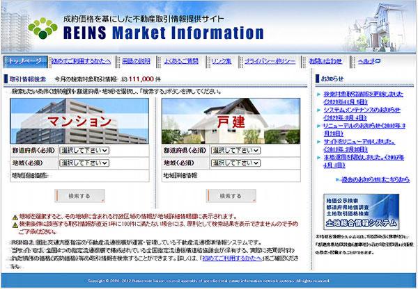 レインズ・マーケット・インフォメーション